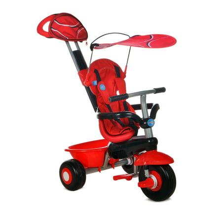 Smart Trike Sport 3-in-1 Tricycle - Red - Walmart.com