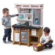 Step2 Lifestyle Custom Play Kitchen with 20 Piece Accessory Play Set