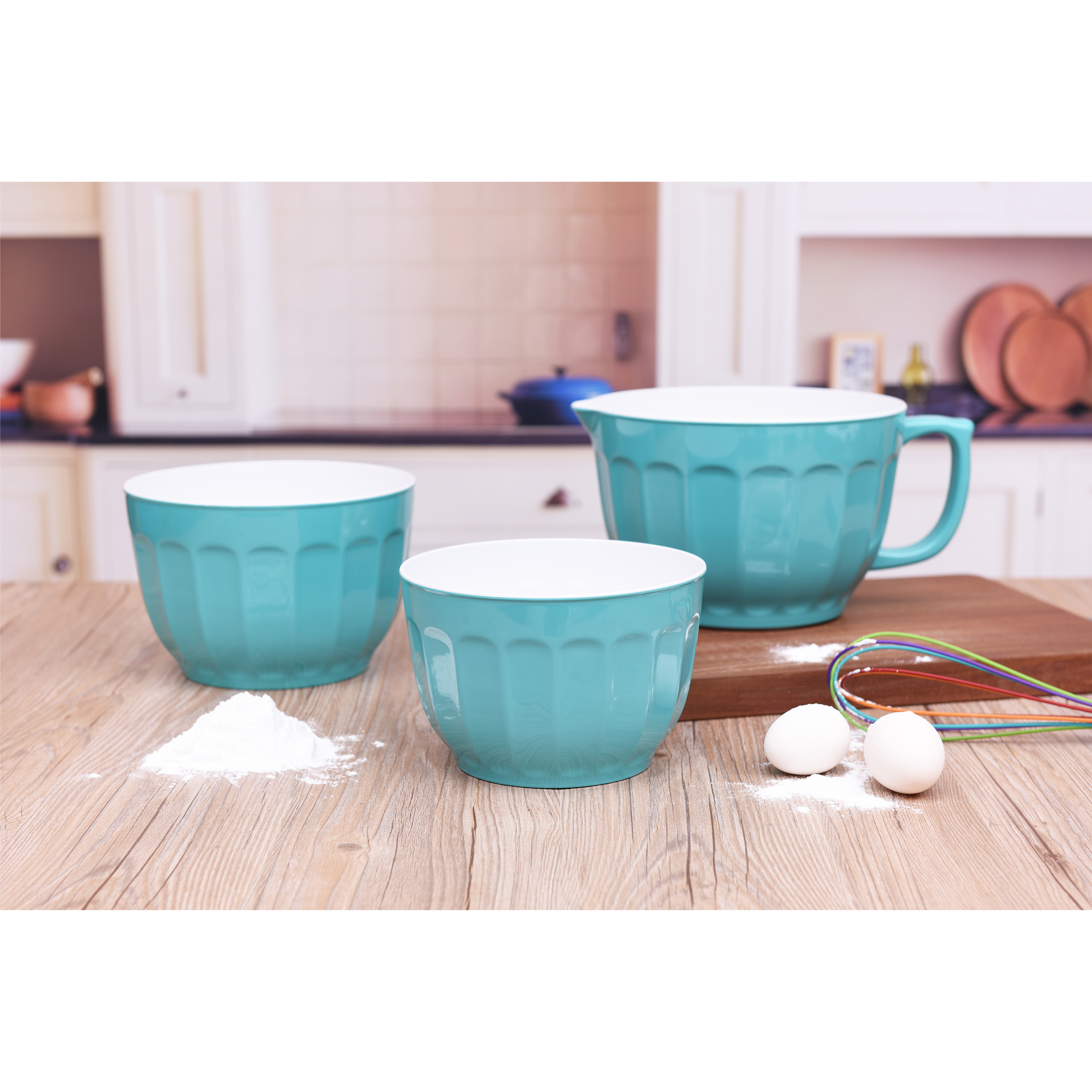 Mainstays 3 Piece Batter Bowl Set