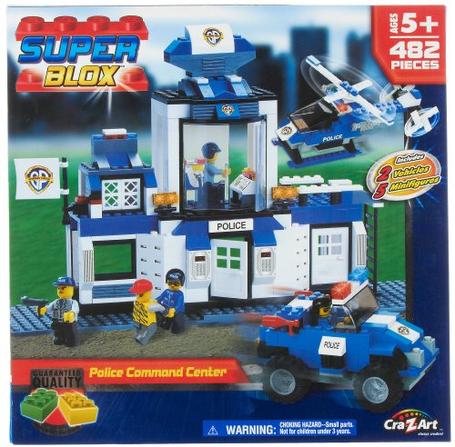 Super Blox Police Command Center by Wmu