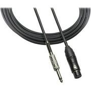 "Audio Technica ATR-MCU10 XLR 1/4"" Mic Cable, 10'"