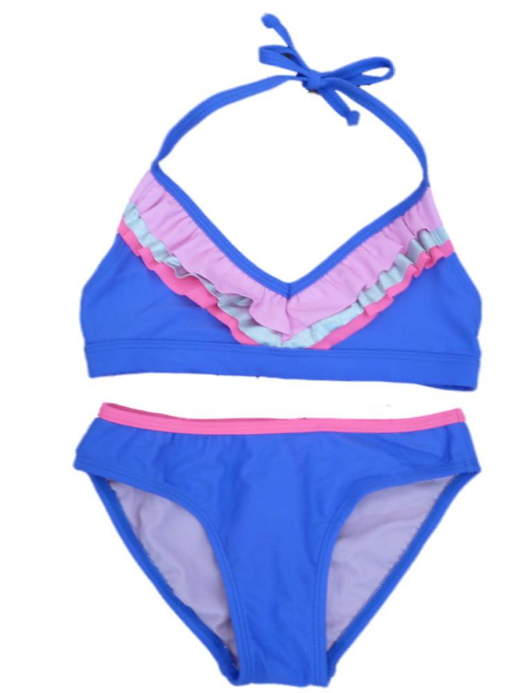 purple bikini Girls