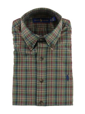 ce34e2e2 Ralph Lauren Mens Casual Button-down Shirts - Walmart.com