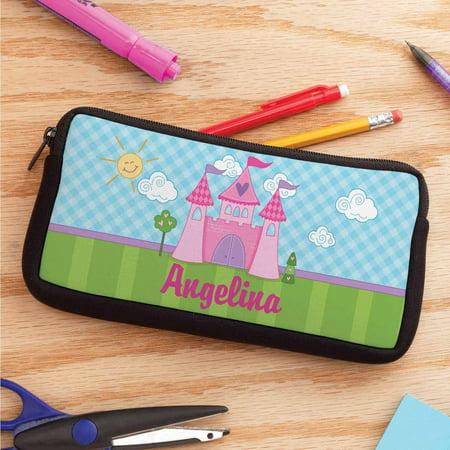 Personalized Princess Castle Pencil Case - Personalized Pencil Case