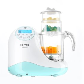 1 Professional 2 Tier Electric Food Steamer With Timer Stackable Produce 5 Quarts Of Steamed Veggies Meats More Baby Food Maker Save Time