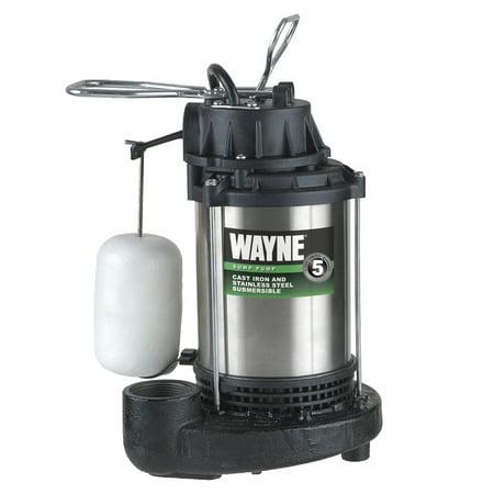 WAYNE CDU1000 1 HP Stainless Steel Sump Pump