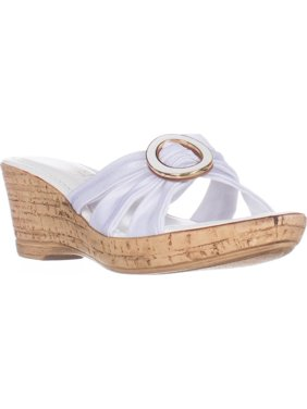 30f547e39797 Product Image Womens Tuscany Easy Street Conca Strappy Wedge Sandals