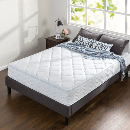 Spa Sensations 10 Inch Spring And Gel Memory Foam Mattress