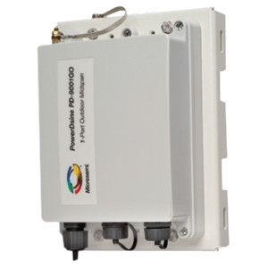 Microsemi PoE Injector Hub - 110 V AC, 220 V AC Input - 5...