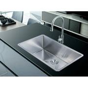 Stufurhome 32'' x 19'' Undermount Single Basin Kitchen Sink