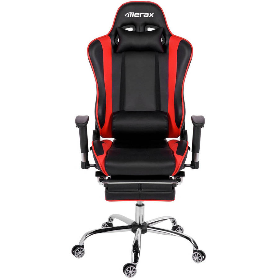 Office chairs for big and tall - Merax High Back Erogonomic Racing Style Computer Gaming Office Chair Recliner Yellow Walmart Com