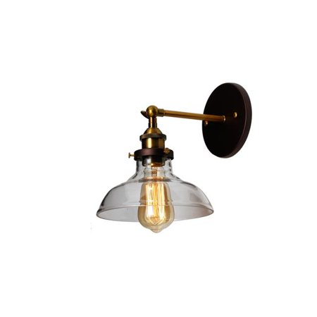 Braxton 1 Light (BRAXTON Industrial 1 Light Oil Rubbed Bronze Wall Sconce 8