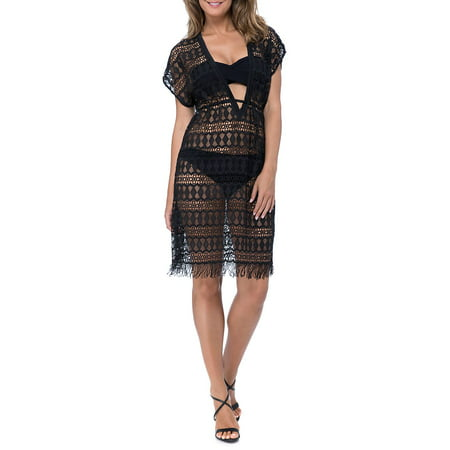 Tutti Frutti Crochet Coverup Dress