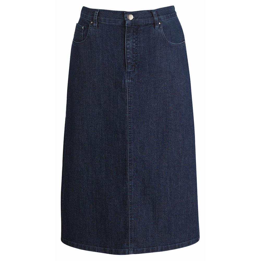 s denim boot skirt traditional pencil