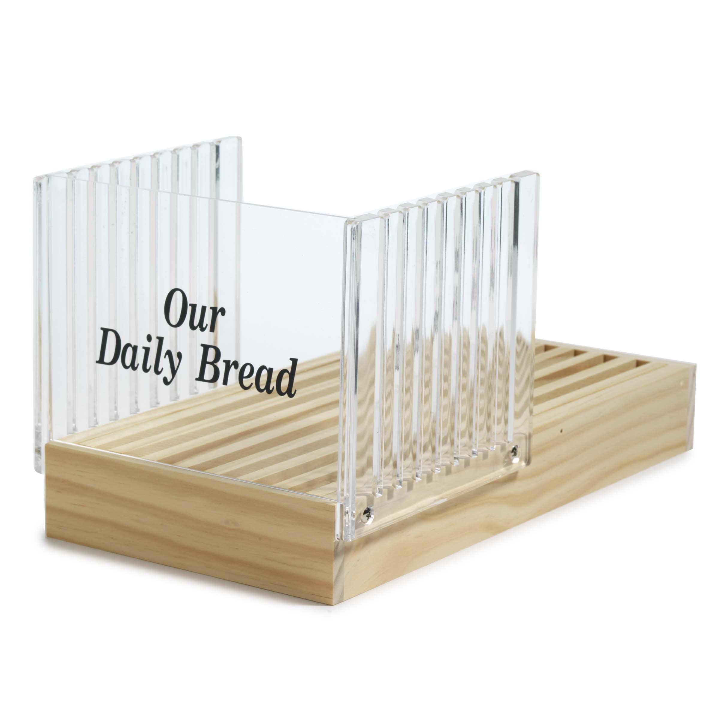 norpro bread slicer with crumb catcher walmart com