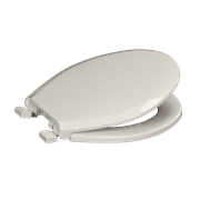 Centoco 3700SC-001 Round Plastic Toilet Seat with Safety Close, White