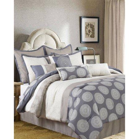 - Nanshing Dante 10-Piece Bedding Comforter Set