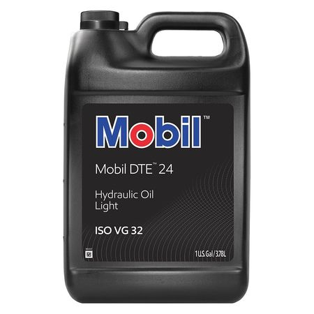 MOBIL Mobil DTE 24, Hydraulic, ISO 32, 1 gal., 101014
