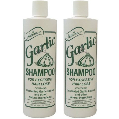 unscented hair styling products nutrine garlic shampoo unscented 16oz pack of 2 9503