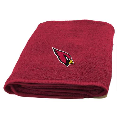 NFL Cardinals Applique Bath Towel