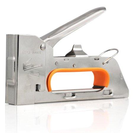 Topeakmart 4 6 8mm Steel Staple Gun Tacker Upholstery Stapler 2500