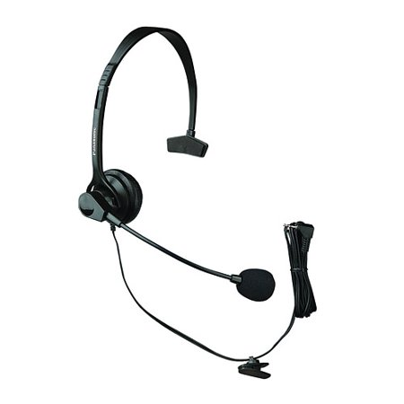 Panasonic KX-TCA60 Hands-Free Headset Panasonic Hands Free Corded Headset