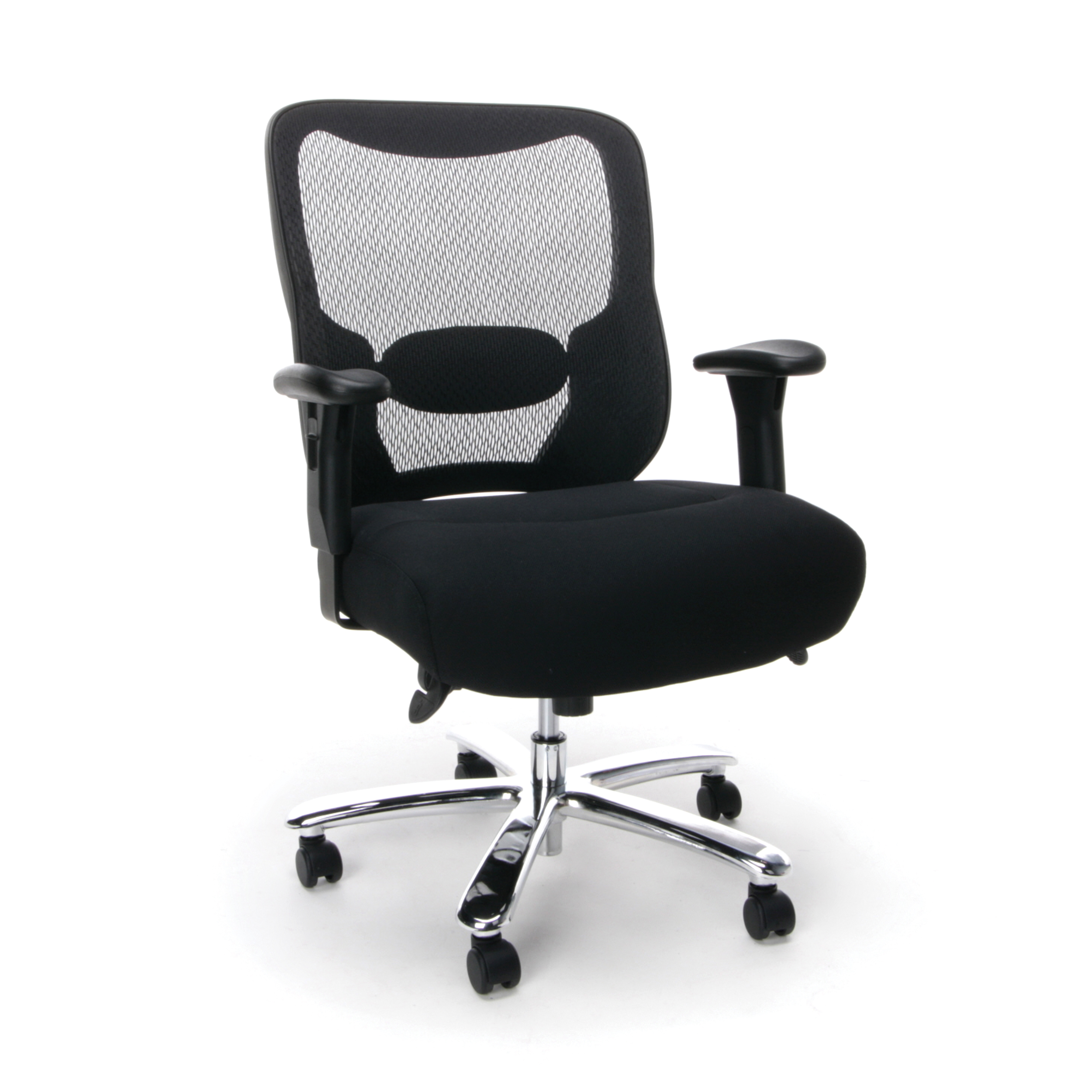 Merveilleux Essentials By OFM ESS 200 Big And Tall Swivel Mesh Office Chair With Arms,