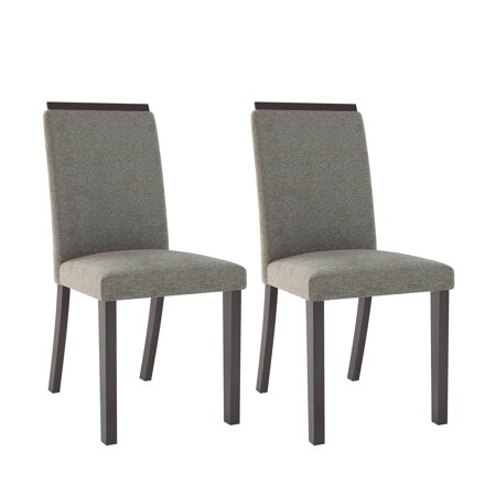 CorLiving Bistro Fabric Dining Chairs, Set of 2