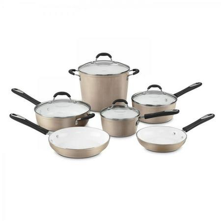 Cuisinart Elements? Non-Stick 10 Piece Cookware Set ()