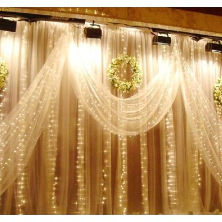 1M 10 LED String Light Fairy Curtain Lamp Starry Christmas Indoor Home Decoration for Festival Wedding Party Living Room Bedroom](Fairy Festivals)
