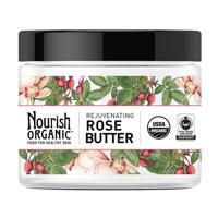 Nourish Organic Healthy Skin Rejuvenating Rose Butter, 5.2 Oz