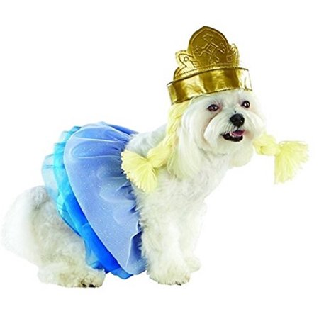 Pet Costume Ice Princess, *2 piece Dog/Pet Costume including Tutu Skirt and Headpiece with braids By Target for $<!---->