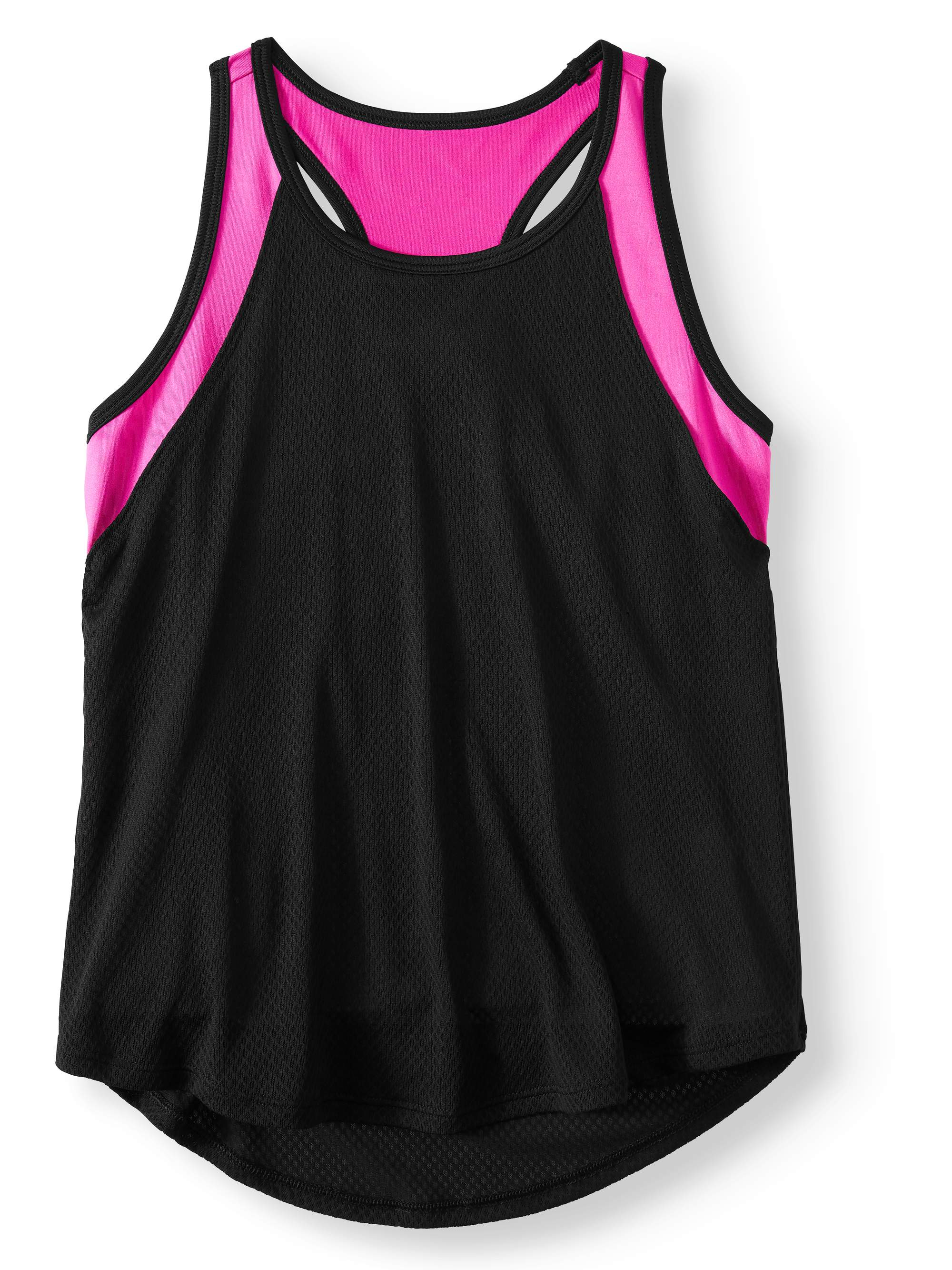 Colorblock 2-Fer Athletic Tank Top (Little Girls & Big Girls)
