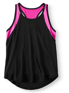 d70280737b99 Product Image Colorblock 2-Fer Athletic Tank Top (Little Girls   Big Girls)
