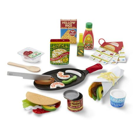 Melissa & Doug® Fill & Fold Taco & Tortilla Set - Melissa And Doug Kitchen Set