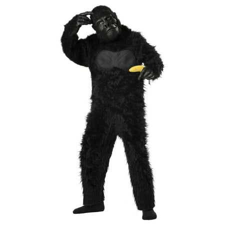 Child Deluxe Gorilla Costume](Funny Gorilla Costume)