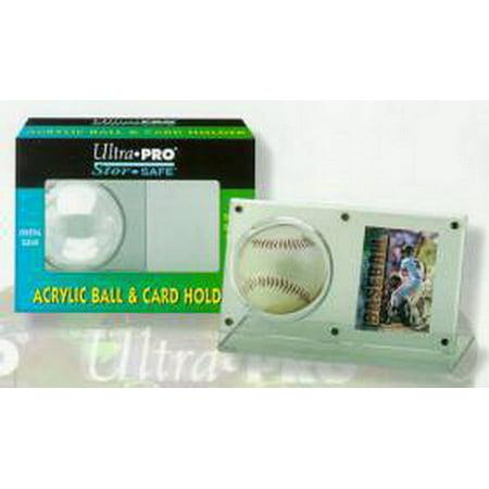 Ultra Pro 7442743013 Baseball  Card Holder - Acrylic - Baseball Card Holders Walmart