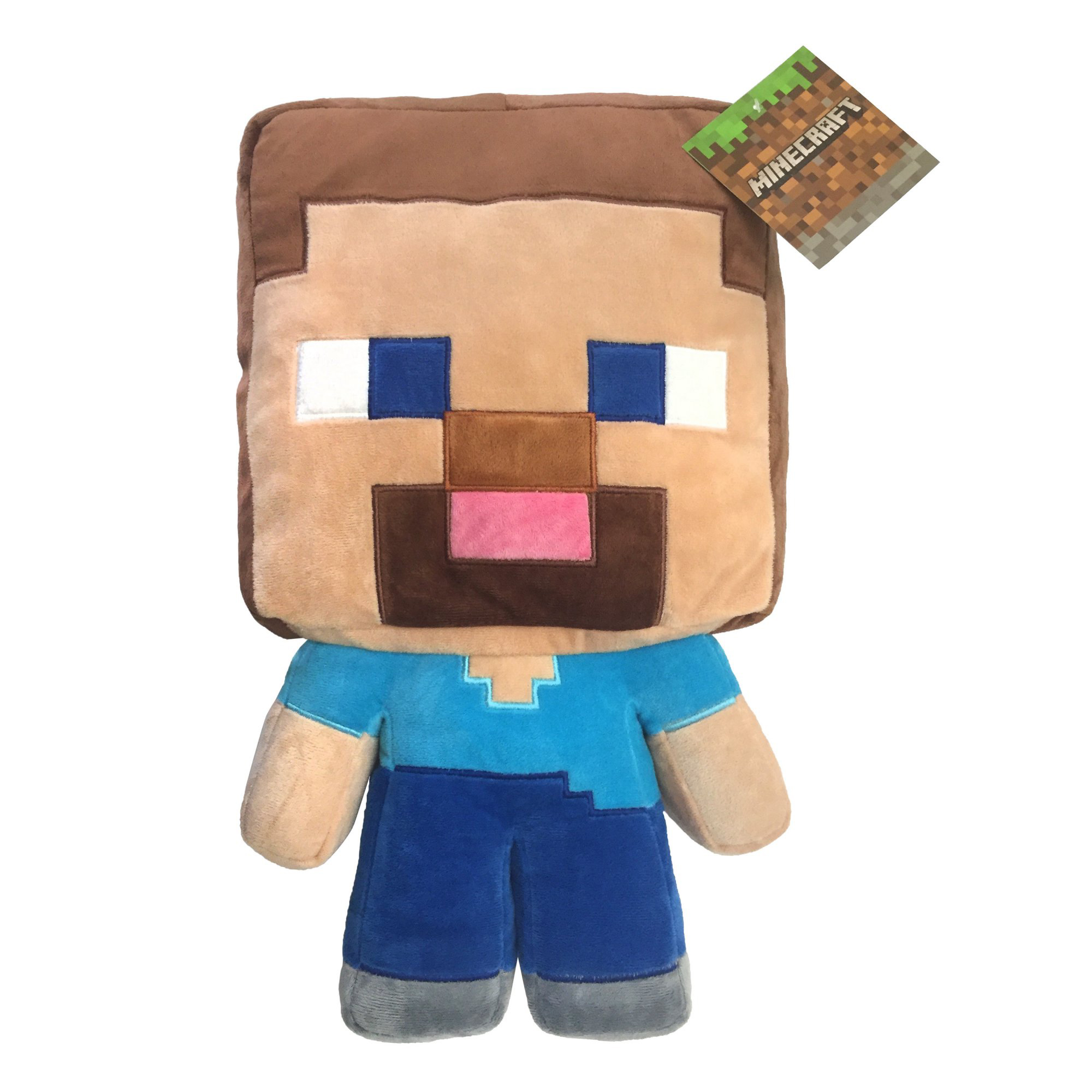 MineCraft Plush Steve Pillow Buddy