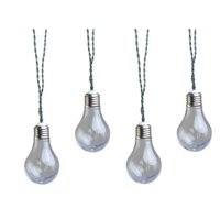 Coleman Cable Moonrays 91137 Solar Powered Led Vintage Bulb String Lights