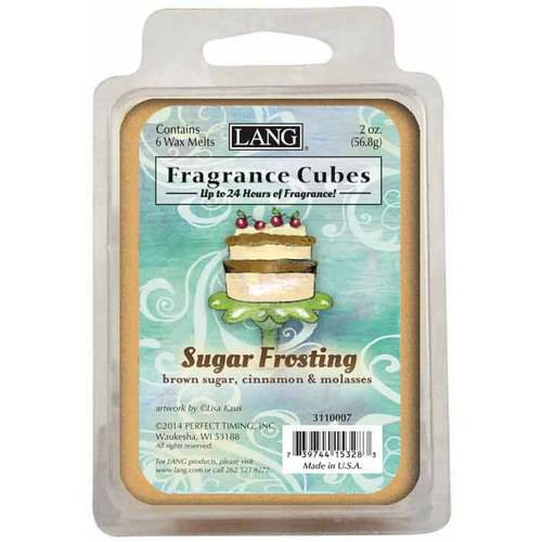 LANG Brown Sugar Frosting 2-Ounce Fragrance Cubes Scented with Brown Sugar, Cinnamon and Molasses