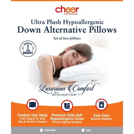 Down Alternative Pillows Set Of 4 Standard