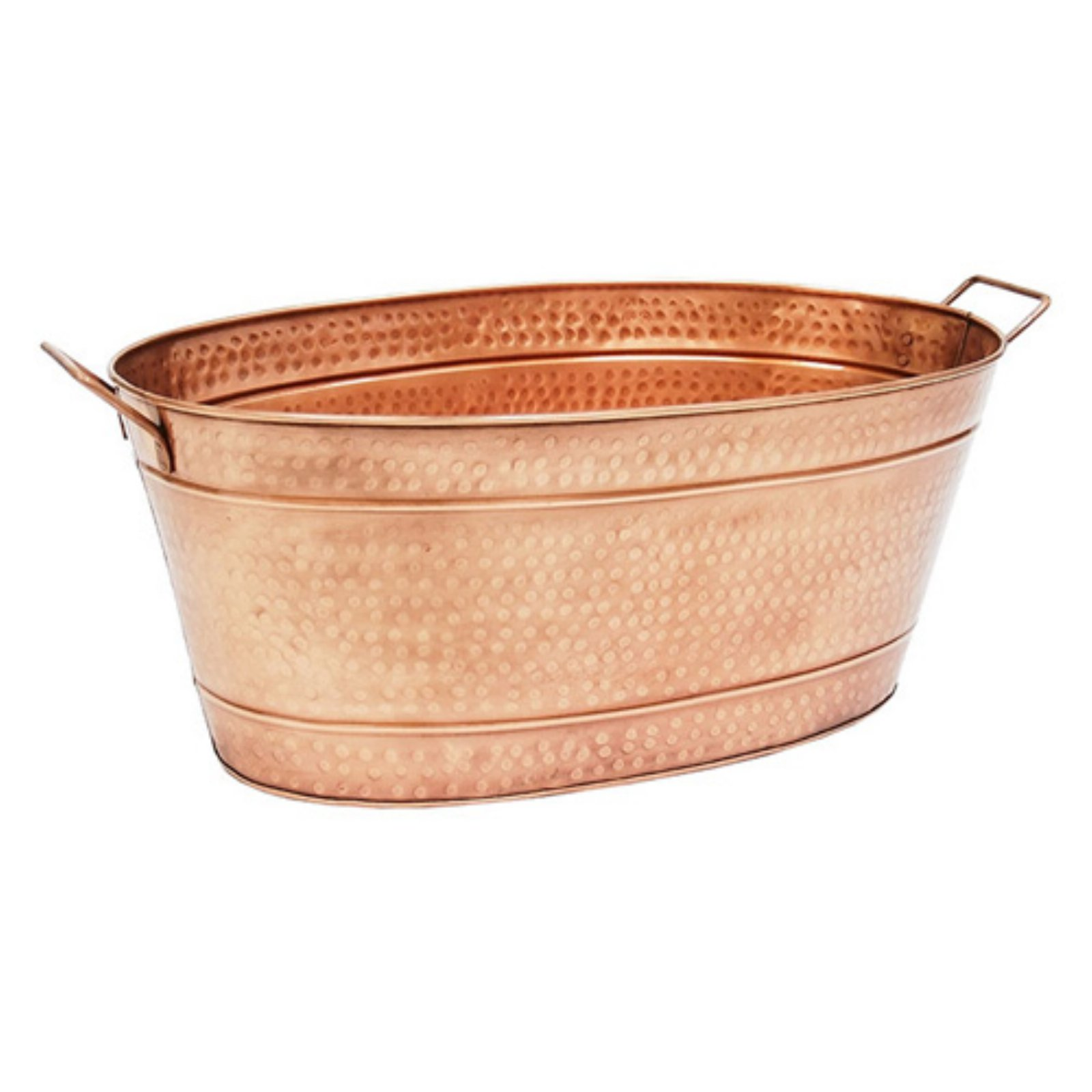 Achla Designs Copper Large Oval Steel Tub