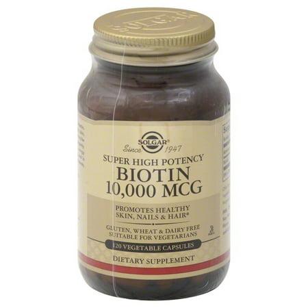 Solgar Solgar  Biotin, 120 ea - Mens Stock Biotin