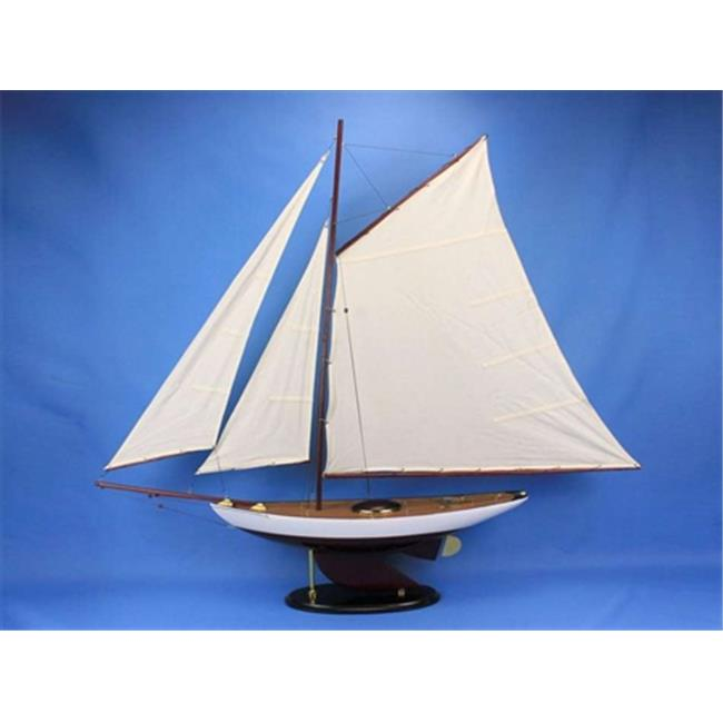 Hand Craft Model Bermuda Sloop 50 Bermuda Sloop 50 in. De...