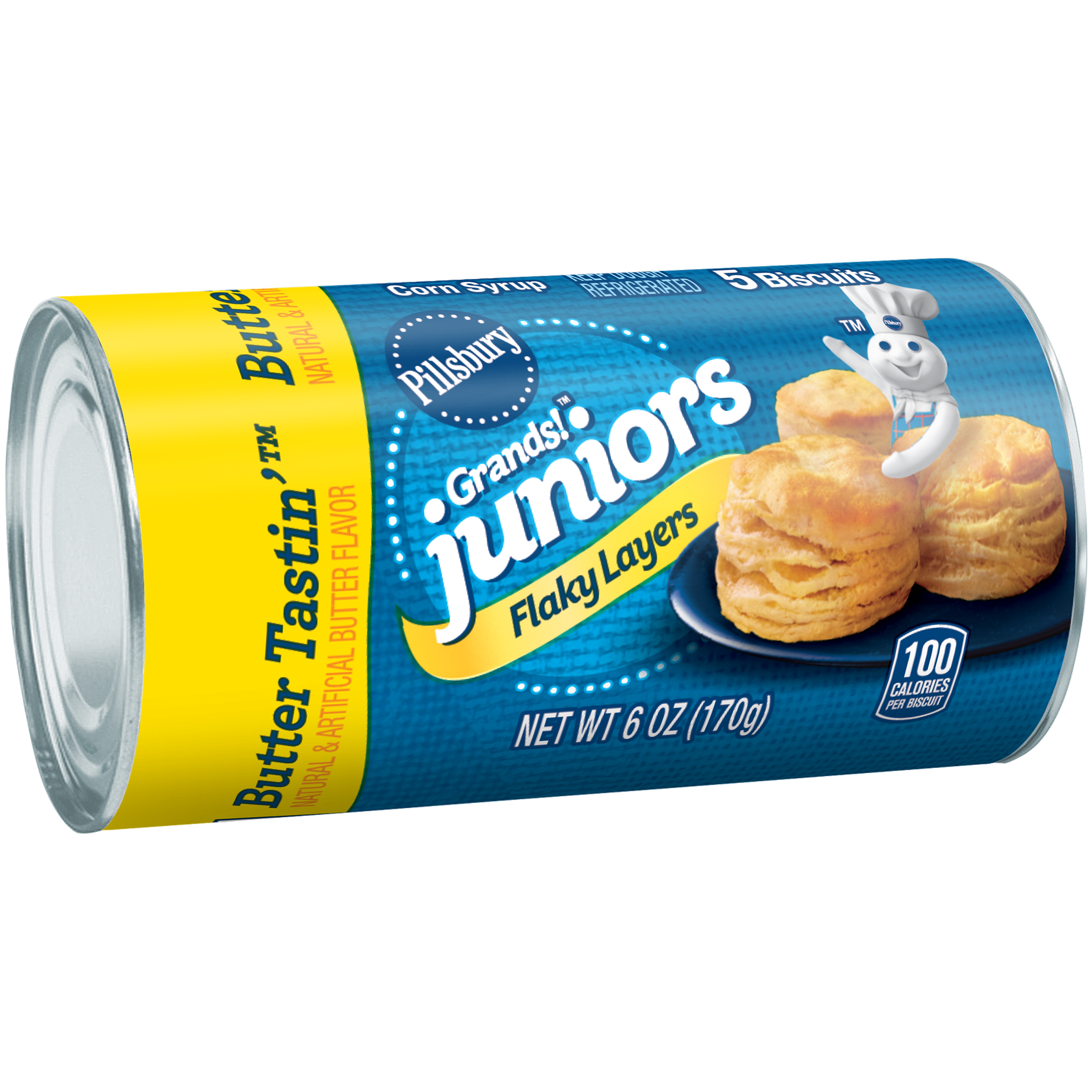 Pillsbury Grands!��� Juniors Flaky Layers Butter Tastin'��� Biscuits 5 ct Can