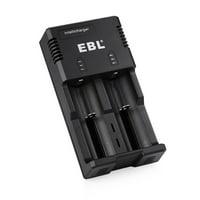 EBL 992 Battery Charger for AA AAA C Li-ion Ni-MH Ni-CD 18650 Rechargeable Batteries
