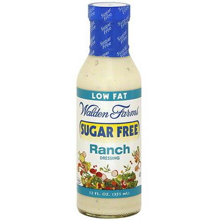 Walden Farms Sugar Free Ranch Salad Dressing, 12 oz (Pack of 6)