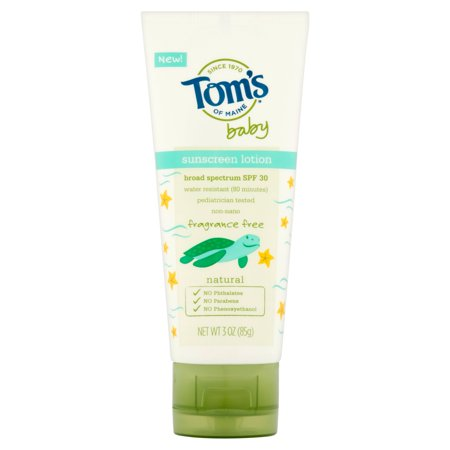 Tom S Of Maine Baby Sunscreen Lotion Broad Spectrum Spf