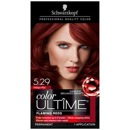 419c51a136 Schwarzkopf Color Ultime Permanent Hair Color Cream, 5.29 Vintage Red -  Walmart.com