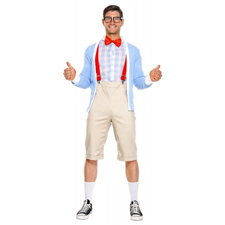 Ideas For Nerd Halloween Costumes (Nifty Nerd Adult Costume -)